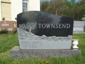 Granite Lettering for Headstones & Memorials- Maryland
