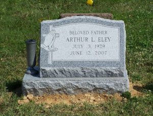 Granite and Marble Slant Memorials by Merkle Monuments in Maryland