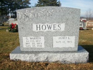 Granite Sandblast Lettering & Cleaning for Memorials in Maryland