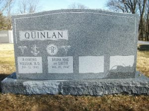 Granite Memorials- Sandblast Lettering in Maryland