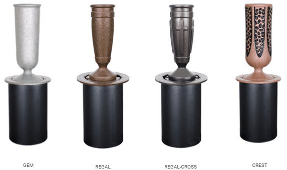 Flush Ground Urns from Merkle Monuments- Bronze, Granite, Marble and More in Maryland