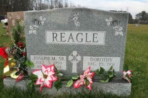 Granite Sandblast Display Lettering- Maryland Memorials