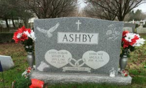 Traditional Granite & Marble Headstones and Lettering Done by Merkle Monuments in Maryland