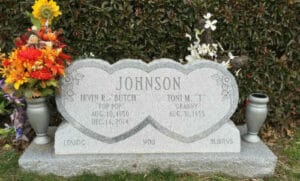 Slant Memorials and Headstones in Maryland