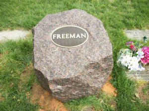 Bronze Bevel Markers and Headstones in Maryland