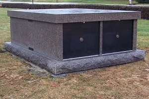 Columbarium Benches and Granite/Marble Memorial Mausoleums by Merkle Monuments in Maryland