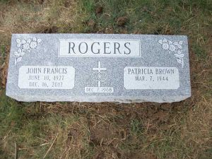 Bevel Markers & Metal Plaques in MD-Merkle Monuments