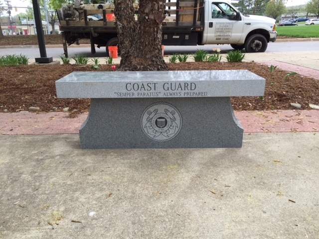 Custom Memorial Benches in Maryland