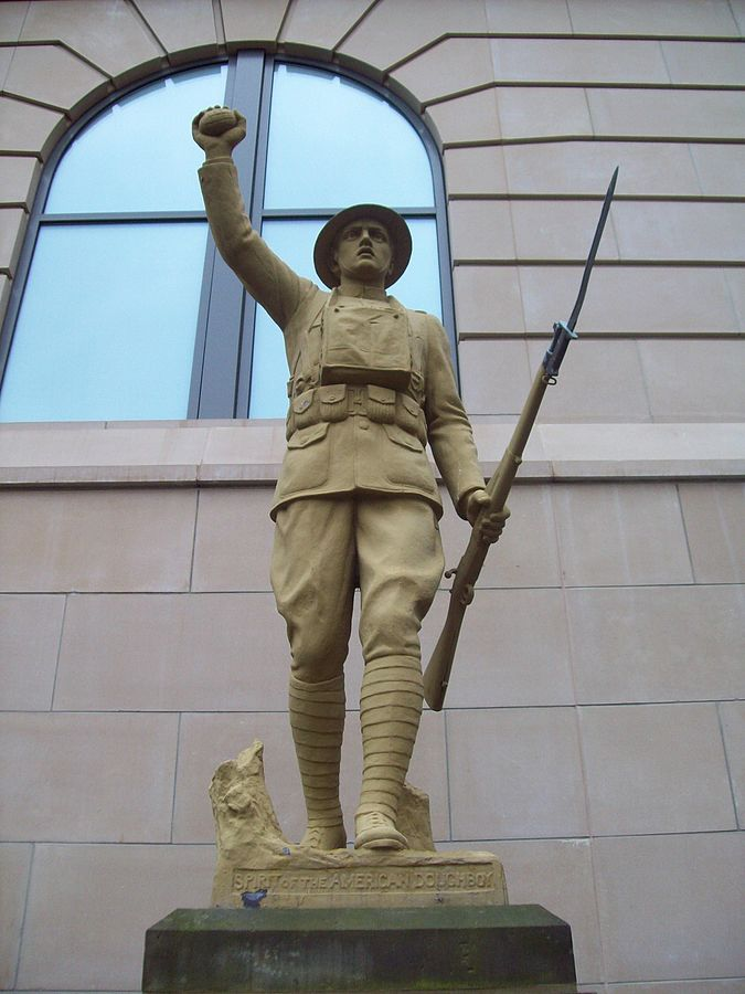 World War I - Spirit of the American Doughboy, Various Locations